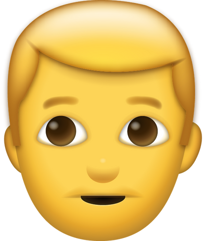 Man Emoji [Download Apple Emoji in PNG]