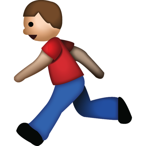 download man running emoji Icon