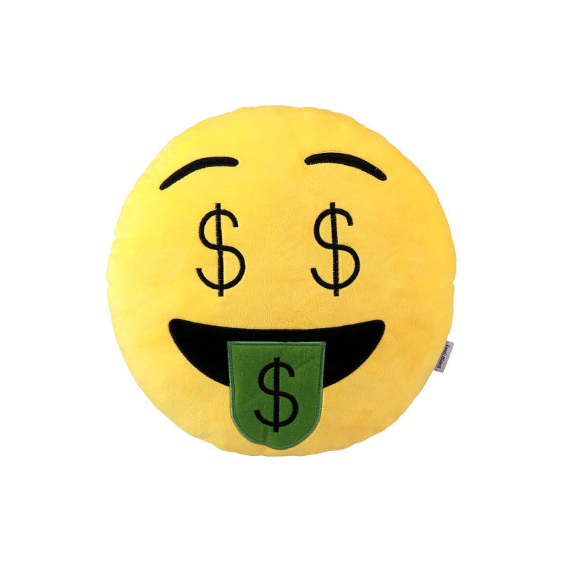Money Emoji Pillow