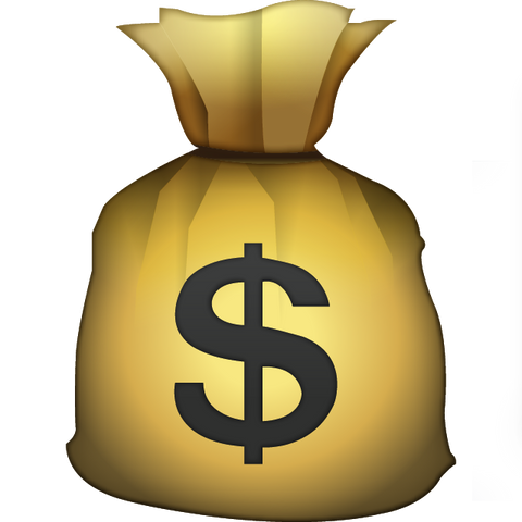 download money bag emoji Icon