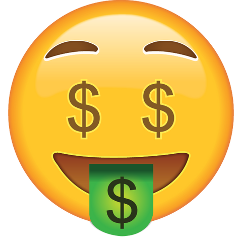download money face emoji icon