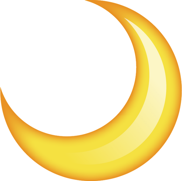 half moon icon on iphone moon emoji image in png emoji island 17011