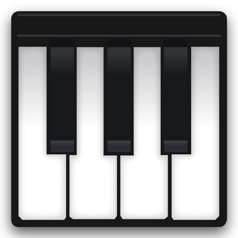 download musical keyboard emoji Icon