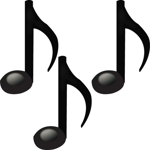 download musical notes emoji Icon