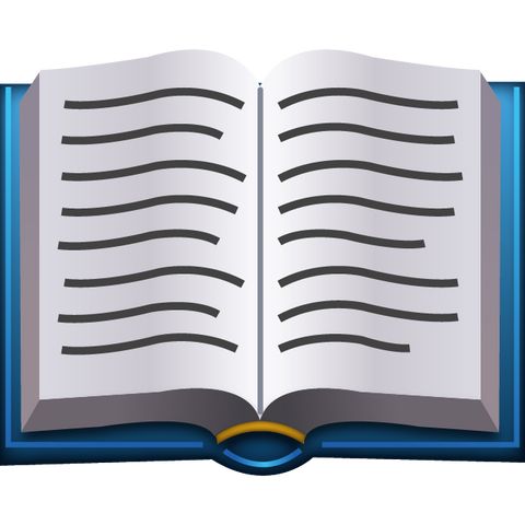 download open book emoji Icon