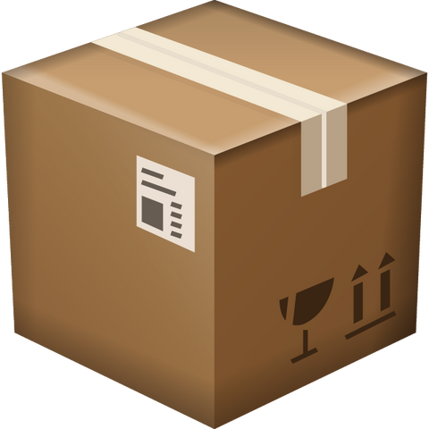 Download Package Box Emoji Icon