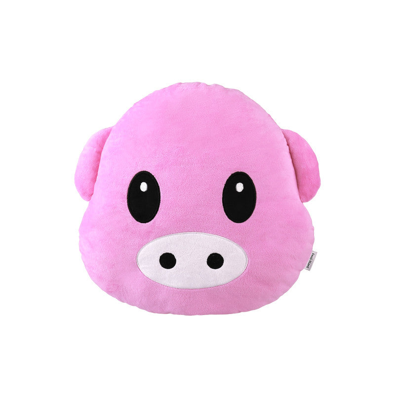 Pig Emoji Pillow