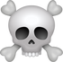Download Pirate Skull Emoji face [Iphone IOS Emojis in PNG]