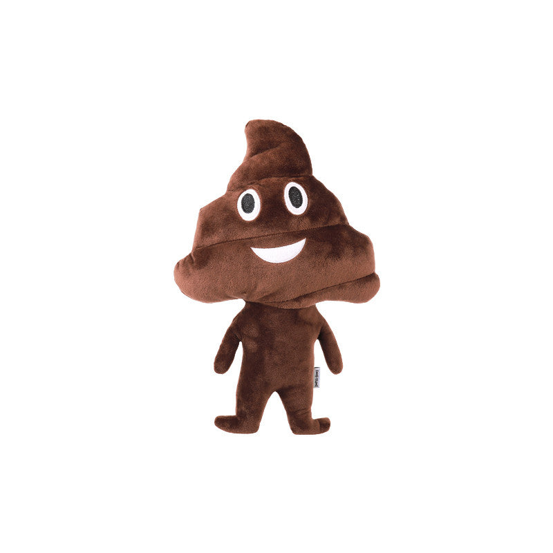 Poop Man Pillow - Emoji Plush