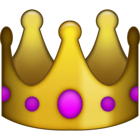 download queen's crown emoji Icon