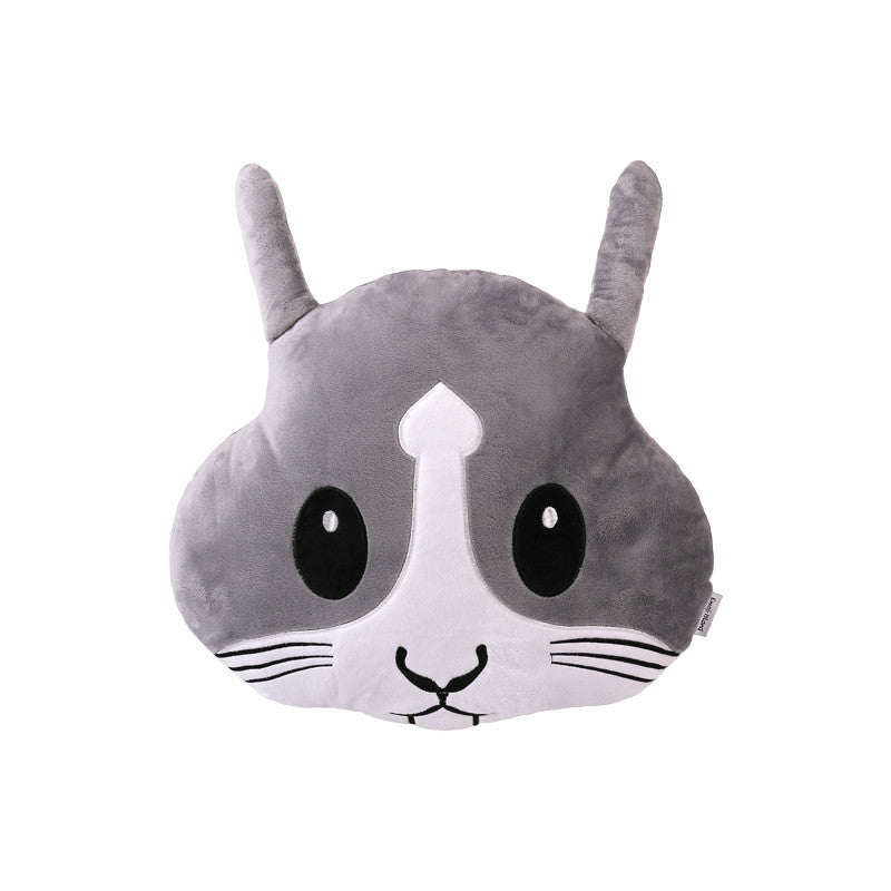 Rabbit Emoji Pillow