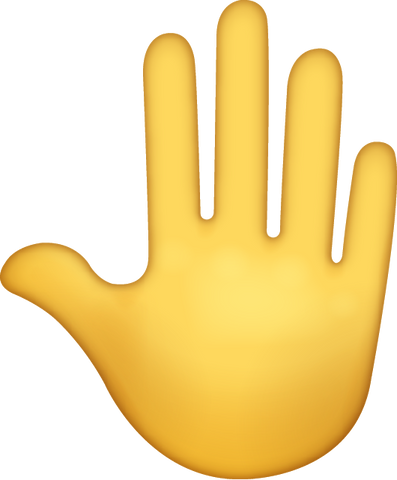Hand Emoji [Download iPhone Hand Emoji in PNG]