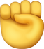 Download Raised Fist Iphone Emoji JPG