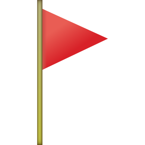 Download Red Flag Emoji Icon