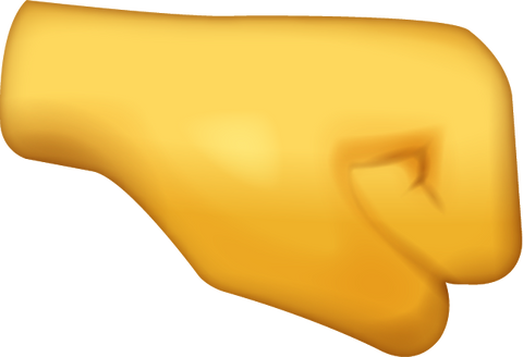 Fist Emoji 1 [Download Apple Emoji in PNG]