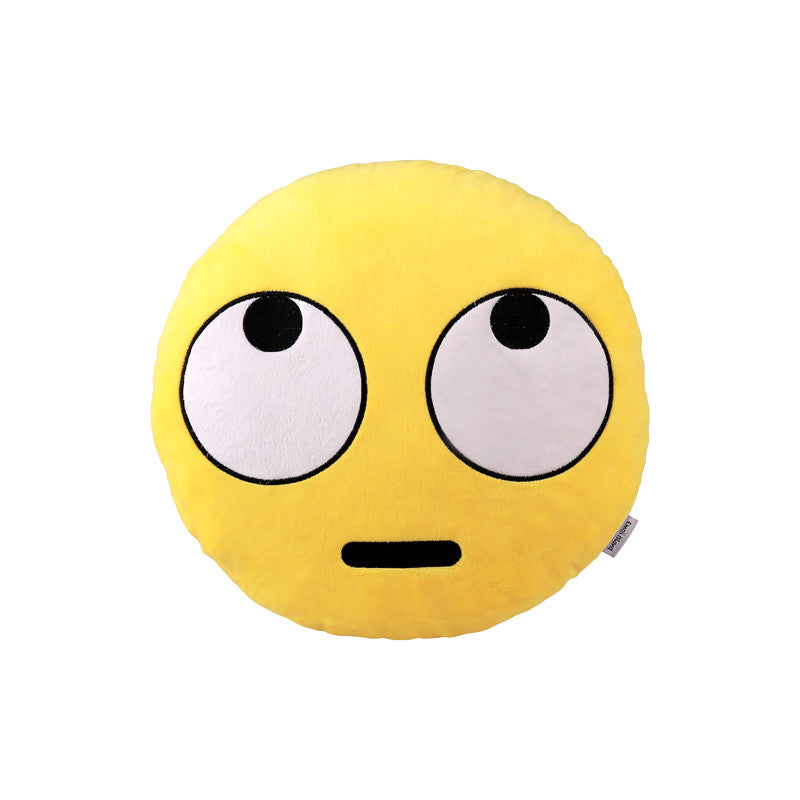 Rolling Eyes Emoji Pillow