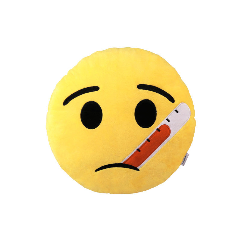 Sick Emoji Pillow - Emoji Cushion Pillows