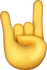 Download Sign Of The Horns Iphone Emoji JPG