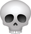 Download Skull Emoji face [Iphone IOS Emojis in PNG]