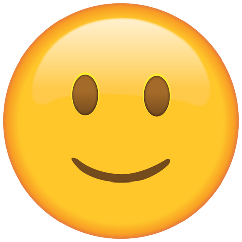 download slightly smiling face emoji icon