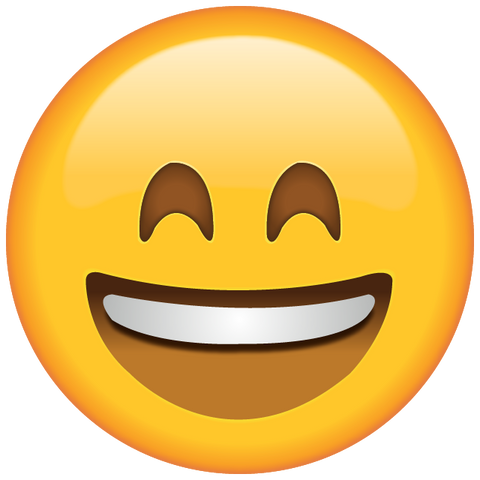 Download Smiling Emoji with Smiling Eyes Icon