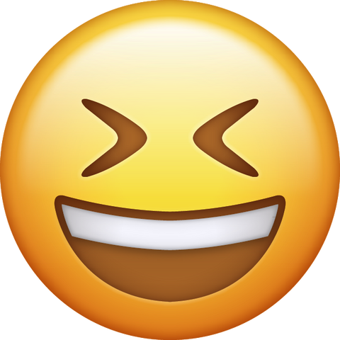 Smiling Face with Closed eyes