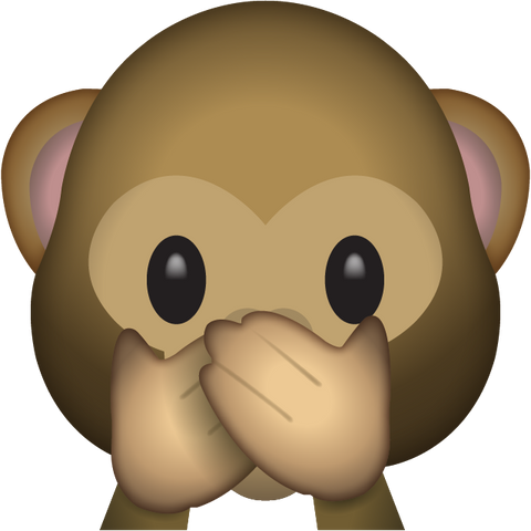 download speak no evil monkey emoji Icon