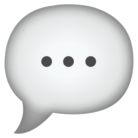 Download Speech Bubble Emoji Icon