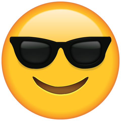 download sunglasses emoji icon