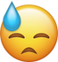 Download Sweat Iphone Emoji Image