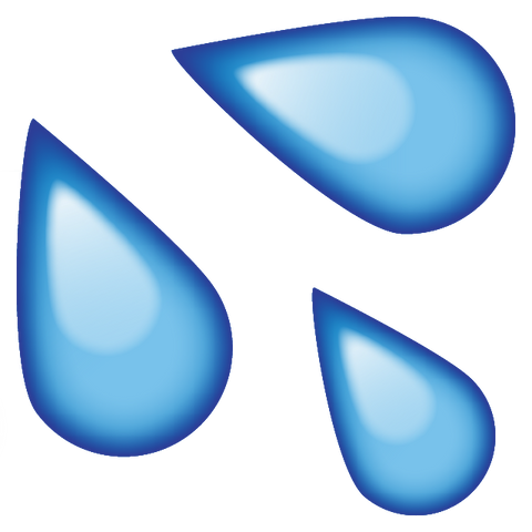 download sweat water emoji Icon