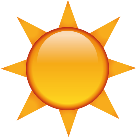 download the sun emoji Icon