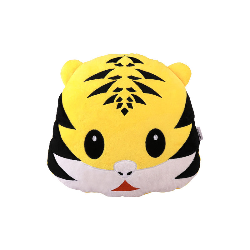 Tiger Emoji Pillow