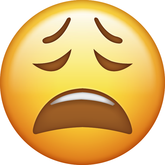 Face Iphone Emoji JPG Download Tired