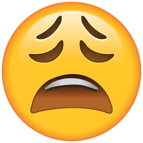download tired face emoji icon