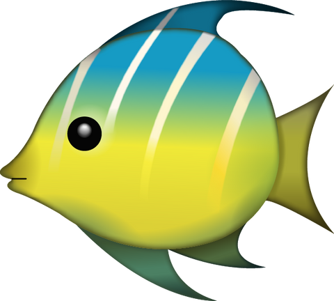 Download Tropical Fish Emoji PNG