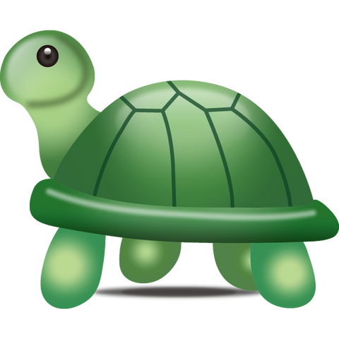 download turtle emoji Icon