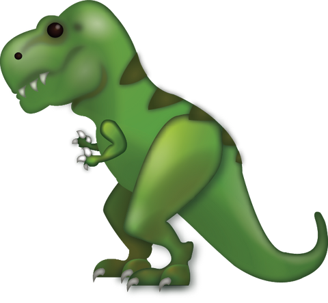 T-Rex Emoji [Download iPhone Emoji In PNG]