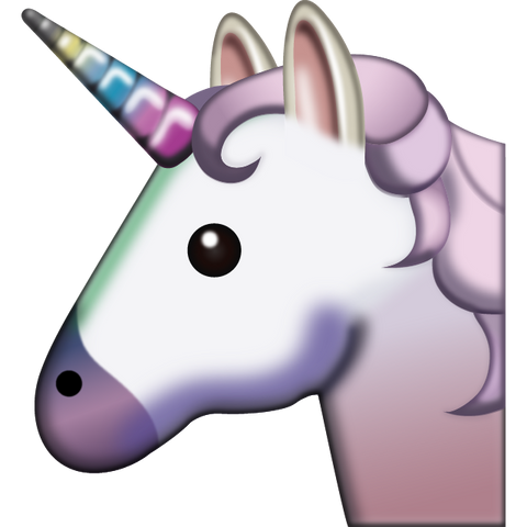 download unicorn emoji Icon