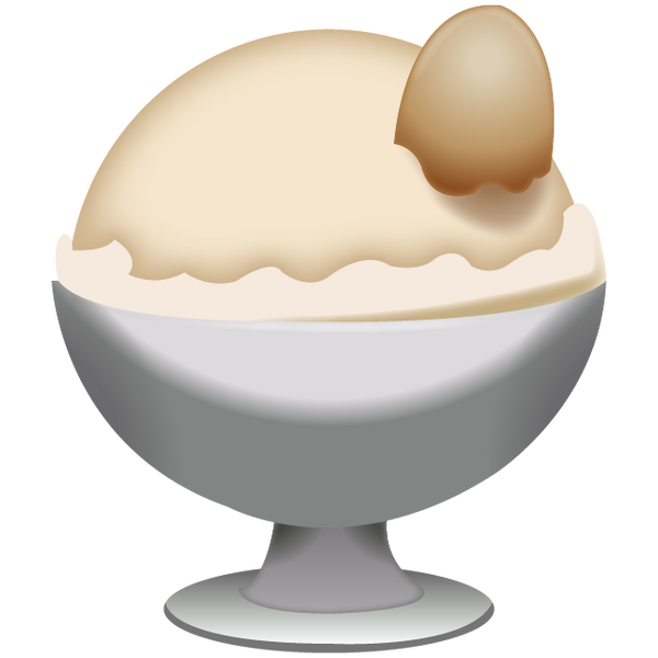 Download Vanila Ice Cream Emoji Icon Emoji Island