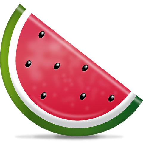 Download Watermelon Emoji Icon