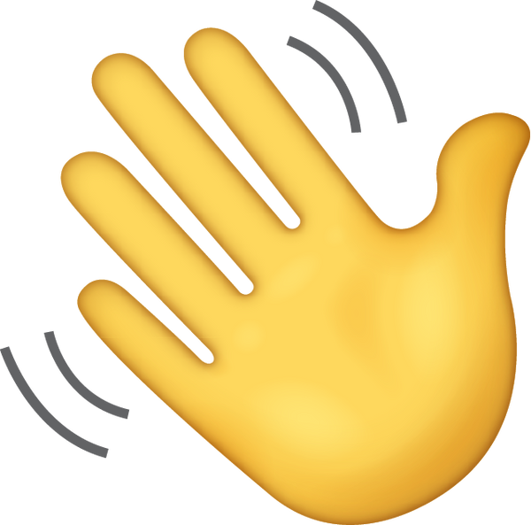 Download Waving Hand Sign Iphone Emoji Icon in JPG and AI ...