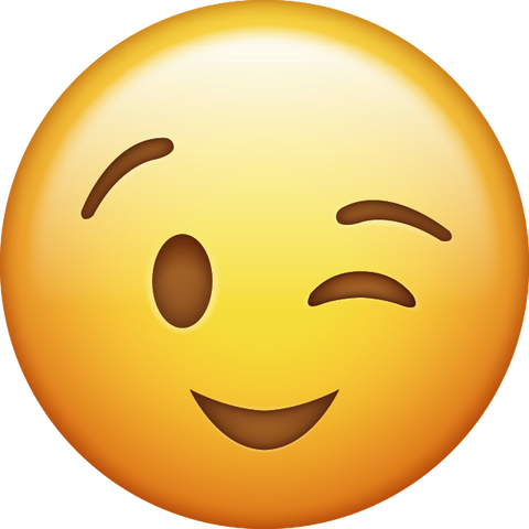 Wink Emoji [Download iPhone Emoji]