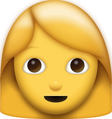Woman Emoji [Download iPhone Emoji]