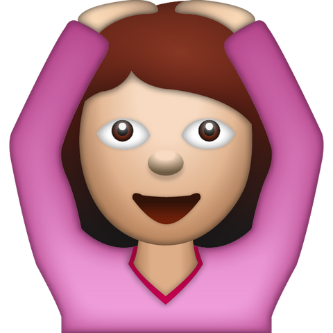 download woman saying yes emoji Icon