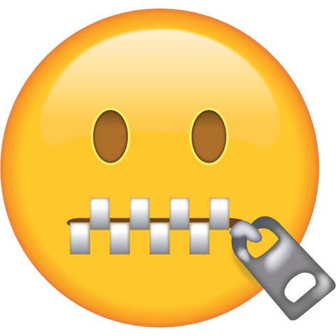 download zipper mouth face emoji Icon