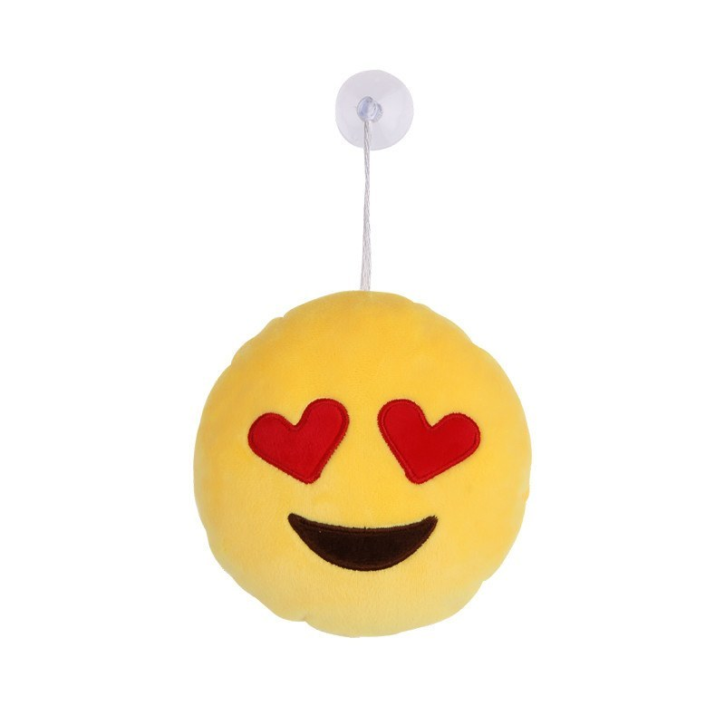 Heart Eyes Emoji Hanging Plushes - Emoji Shop