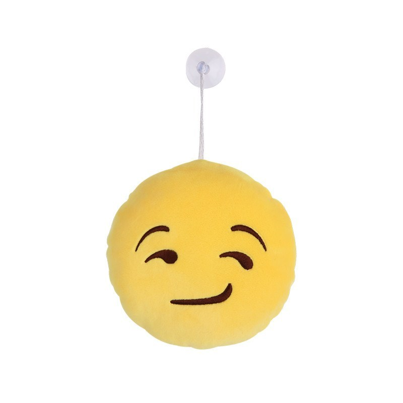 Smirk Emoji Hanging Plushes - Emoji Shop