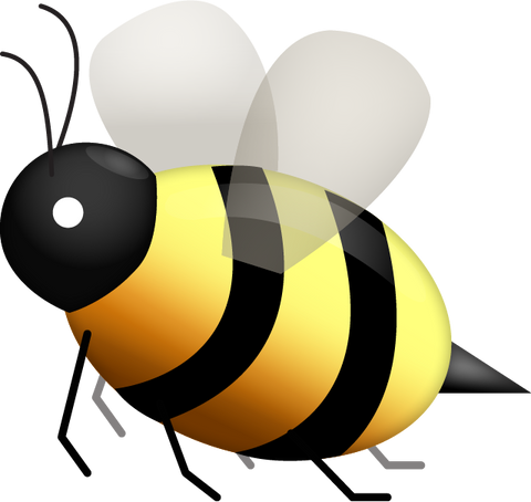 Download Honeybee Emoji PNG