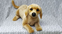 Stuffed Yellow Labrador Retriever